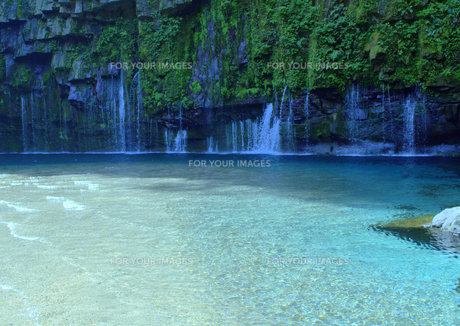 雄川の滝の写真素材 [FYI01167648]