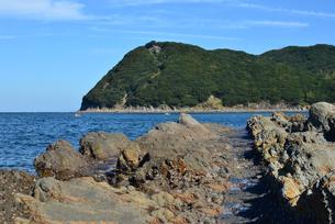 加太瀬戸内海国立公園と洗濯岩の写真素材 [FYI01167653]