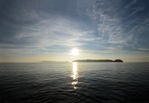 加太瀬戸内海国立公園の夕暮の写真素材 [FYI01167654]