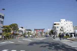 日本の街の写真素材 [FYI01167671]
