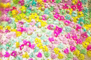 カラフルな水滴の写真素材 [FYI01168202]
