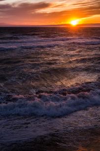 冬の海の写真素材 [FYI01168298]
