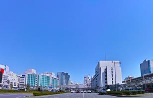 静岡駅前の風景の写真素材 [FYI01168357]