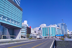 静岡駅前の風景の写真素材 [FYI01168358]