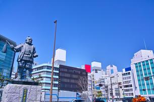 静岡駅前の風景の写真素材 [FYI01168359]