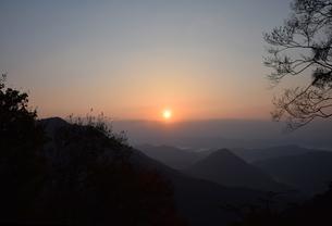 京都大江山の日の出の写真素材 [FYI01168473]