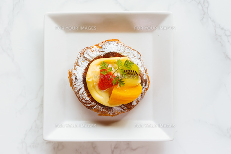 おしゃれなケーキの写真素材 [FYI01168639]