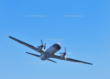 航空自衛隊のYS-11の写真素材 [FYI01169107]