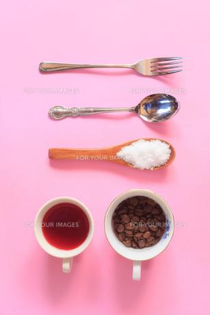 食器素材の写真素材 [FYI01169581]