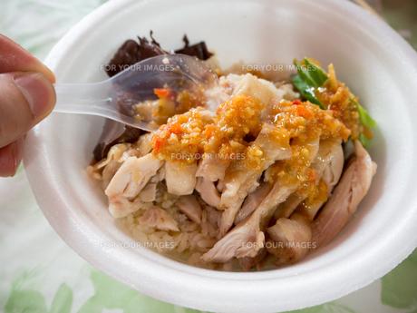 タイ料理 カオマンガイの写真素材 [FYI01169972]
