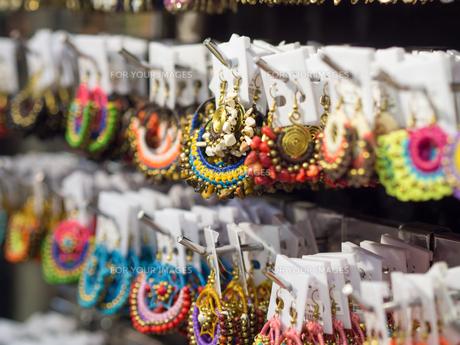 タイお土産 ピアス イヤリングの写真素材 [FYI01169989]