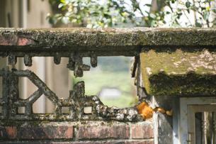 風景 背景 路地 壁 素材 海外 アジア 台湾 九份 旅 トラベル 旅行 レトロの写真素材 [FYI01170037]