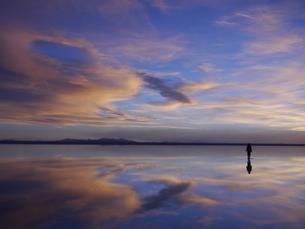 ウユニ塩湖の写真素材 [FYI01170116]