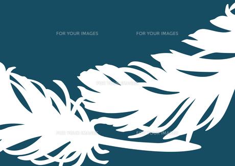 羽根デザイン3のイラスト素材 [FYI01170251]