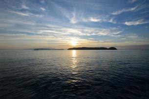 加太瀬戸内海国立公園に広がる海の写真素材 [FYI01170334]
