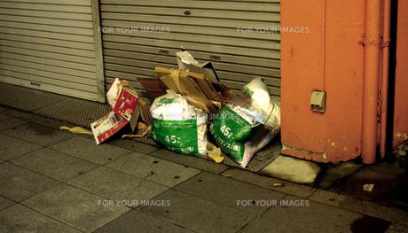 ゴミの写真素材 [FYI01170411]