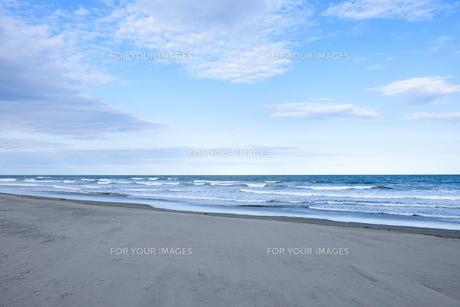 浜辺風景1の写真素材 [FYI01171817]