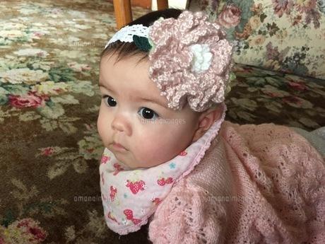 ハイハイ赤ちゃんの写真素材 [FYI01172094]