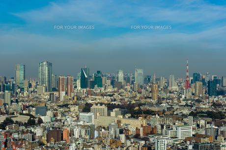 東京俯瞰の写真素材 [FYI01173038]