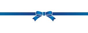 青いリボンの素材のイラスト素材 [FYI01173112]
