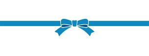 青いリボンの素材のイラスト素材 [FYI01173113]