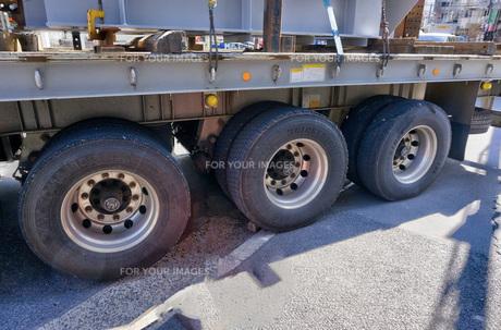 大型トレーラーの写真素材 [FYI01173632]
