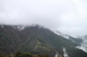 大涌谷 噴煙風景の写真素材 [FYI01173937]