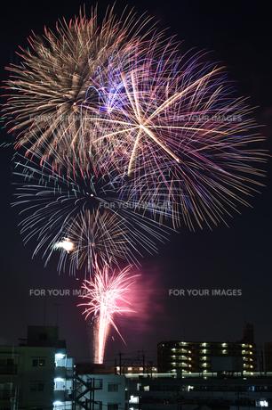 夏/花火/夜の写真素材 [FYI01175708]