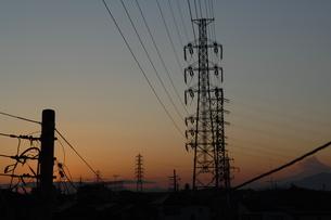 夕方03の写真素材 [FYI01176089]