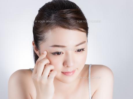 女性ビューティーイメージの写真素材 [FYI01176393]