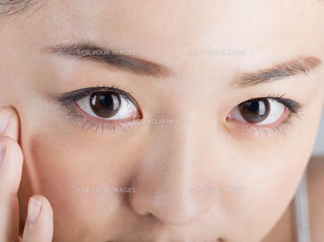 女性ビューティーイメージの写真素材 [FYI01176398]