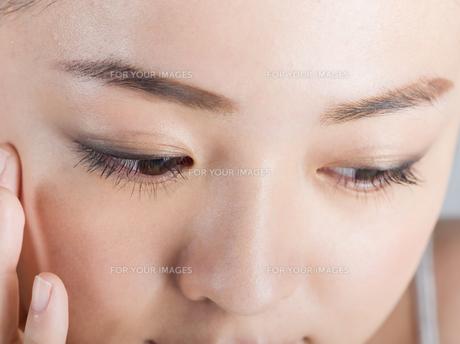 女性ビューティーイメージの写真素材 [FYI01176400]