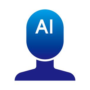 AI アイコンのイラスト素材 [FYI01176928]