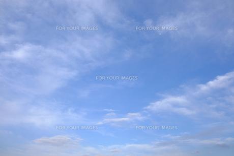 雲海と青空の写真素材 [FYI01177847]