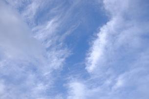 雲海と青空の写真素材 [FYI01177848]