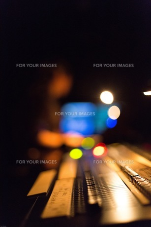 音響イメージ 玉ボケの写真素材 [FYI01177873]