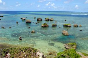 東平安名崎付近の海の写真素材 [FYI01177983]