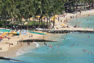 ワイキキビーチ 俯瞰の写真素材 [FYI01178119]