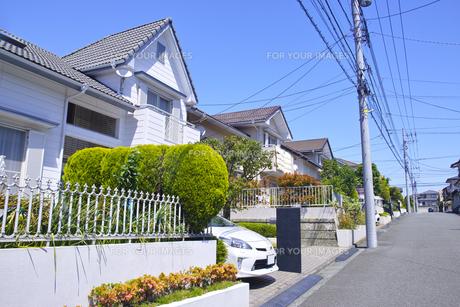 郊外の住宅街の写真素材 [FYI01178164]