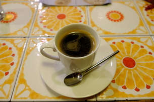 喫茶でコーヒーの写真素材 [FYI01178571]