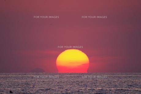 夕日の写真素材 [FYI01178605]