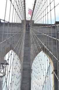 ブルックリン橋の写真素材 [FYI01179580]