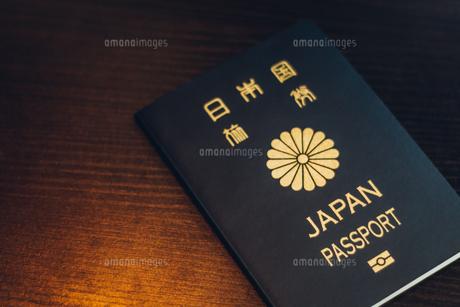 パスポート 5年 クローズアップの写真素材 [FYI01179634]