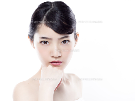 女性ビューティーイメージの写真素材 [FYI01179998]