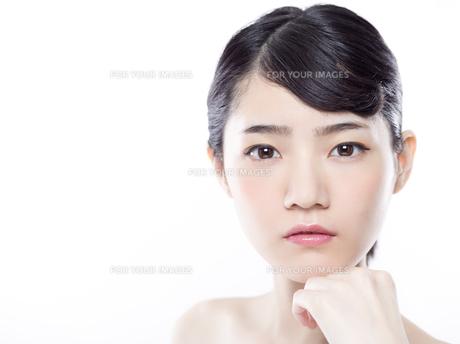 女性ビューティーイメージの写真素材 [FYI01180003]