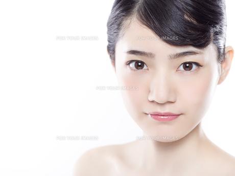 女性ビューティーイメージの写真素材 [FYI01180004]