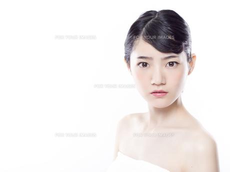 女性ビューティーイメージの写真素材 [FYI01180008]