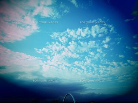 青空の写真素材 [FYI01180217]