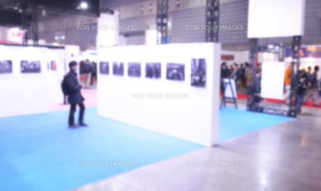 展示会場の写真素材 [FYI01180507]