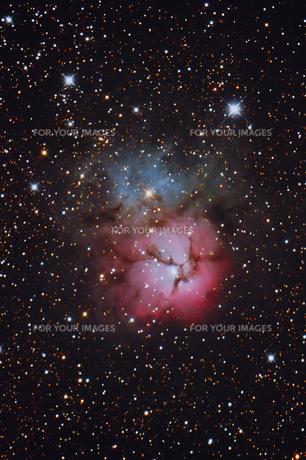 M20 三裂星雲の写真素材 [FYI01180800]